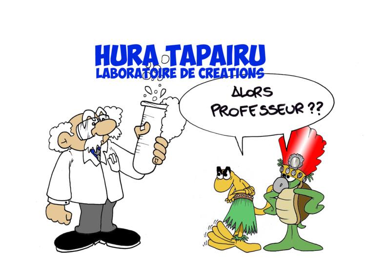 """ Le Hura Tapairu "" par Munoz"