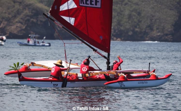 La pirogue Terematai est arrivée en deuxième position au classement final