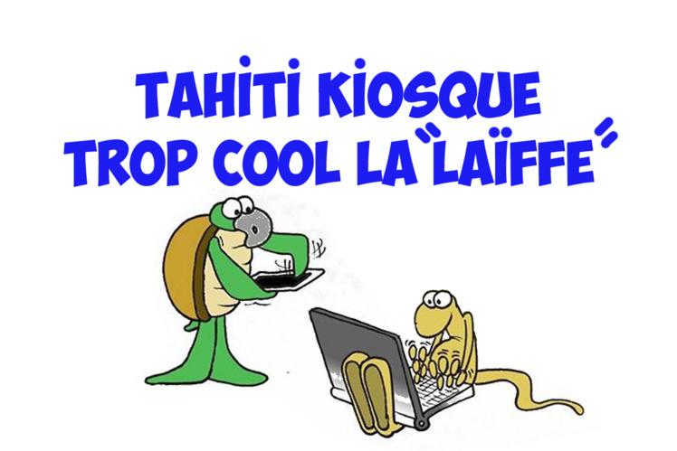 """"""" Le Tahiti Kiosque """" par Munoz"""