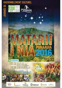Matari'i i nia au musée de Tahiti samedi