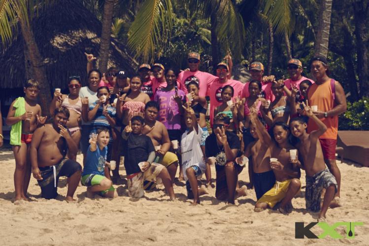La journée de mardi était consacrée aux enfants de Bora Bora