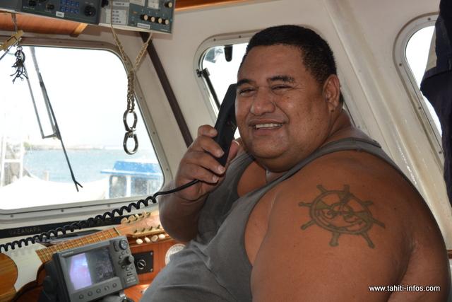Homme au grand coeur, René Utia vit de la pêche depuis plus de 20 ans.