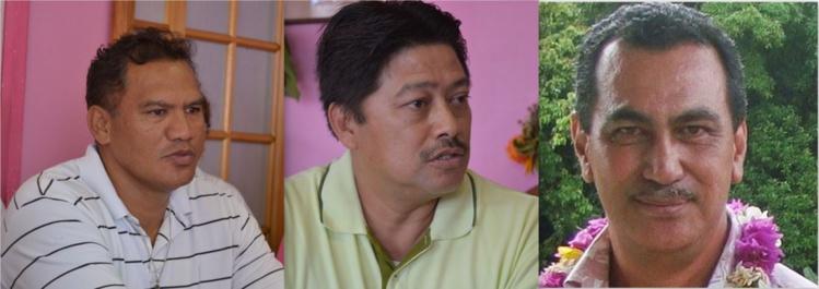 Voici les trois candidats de Tau Hoturau.
