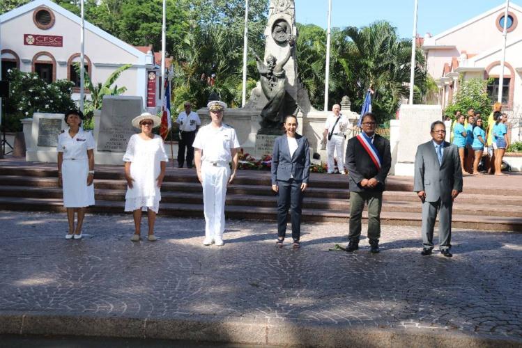 La journée d'hommage aux morts pour la France célébrée à Papeete