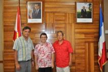 Le nouveau directeur du CHPF en visite au CESC