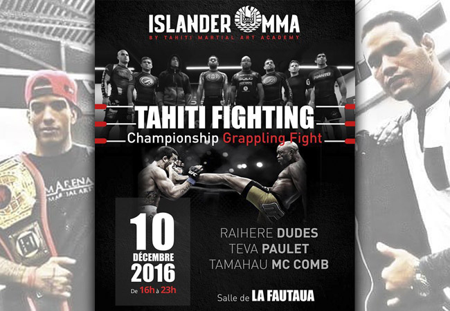 Pancrace : Le Tahiti Fighting Championship Grappling Fight