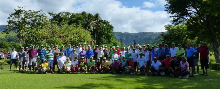 Pendant deux jours, les golfeurs du fenua se sont mobilisés en faveur du Téléthon 2016.