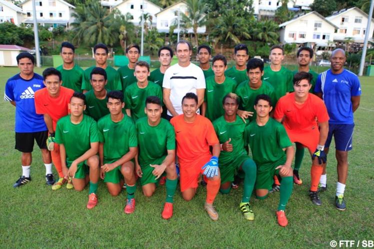 La sélection Tahiti Nui U17