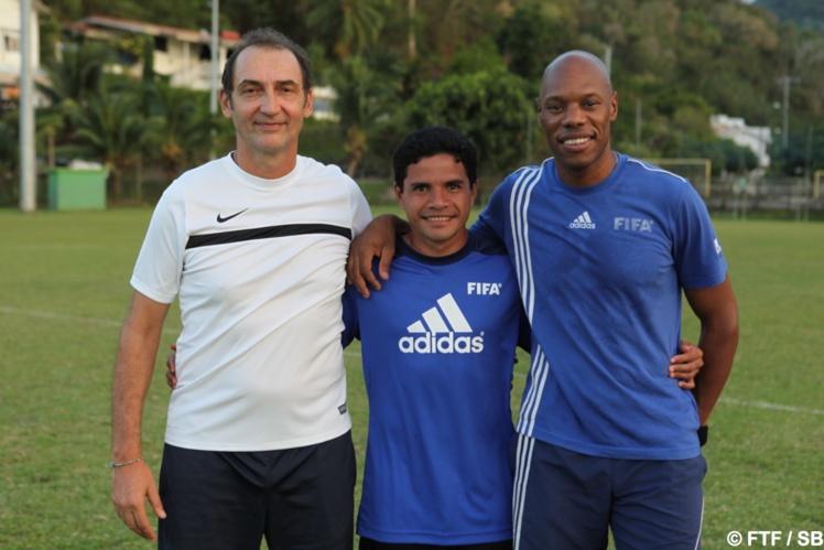Patrice Flaccadori, Vincent Simon et Emmanuel Liparo