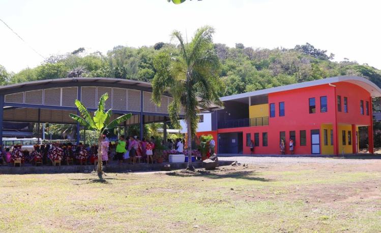 La nouvelle maison de quartier de Tipaerui. (Photo de la Présidence).