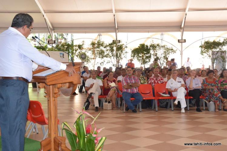 Edouard Fritch rencontre les maires polynésiens