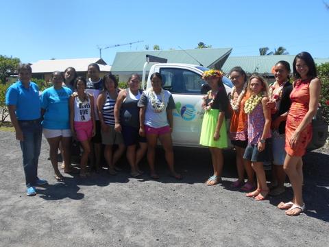 Des stagiaires du Sefi ont visité la Polynésienne des eaux