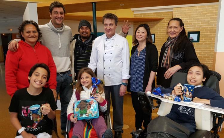 Le Noël des enfants polynésiens hospitalisés en métropole