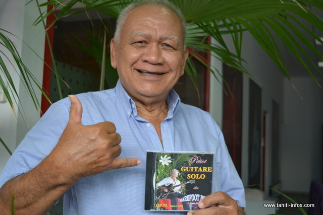 Le nouvel album de Petiot sera en vente dès mercredi à Wong Tac.