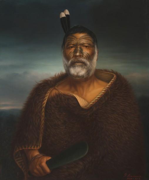 Eru Tamaikoha te Ariari, huile sur toile, 1903, Auckland Art Gallery Toi o Tamaki, don de Mr. H E Partridge, 1915.