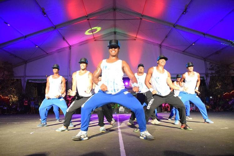 Battle de danse au Taurua i Faa'a