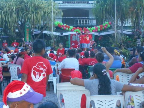 Un Noël à la mairie de Moorea