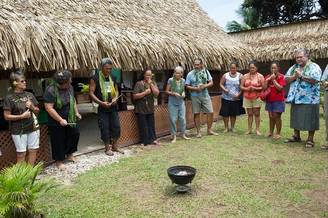 L'association Rohutu Noanoa, qui se mobilise depuis plusieurs années pour préserver le site de la pointe Tata'a, s'est réunie samedi avec des représentants de différentes associations culturelles.