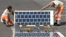 Inauguration jeudi de la première route solaire au monde
