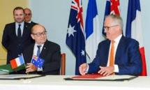 Australie et France signent leur mégacontrat pour 12 sous-marins