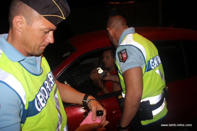 Cette année encore, la gendarmerie compte bien intensifier sa présence sur les routes en cette période de fêtes de fin d'année propice aux excès. (Archives)