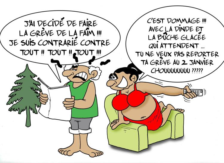""""""" La grève de la faim """" par Munoz"""
