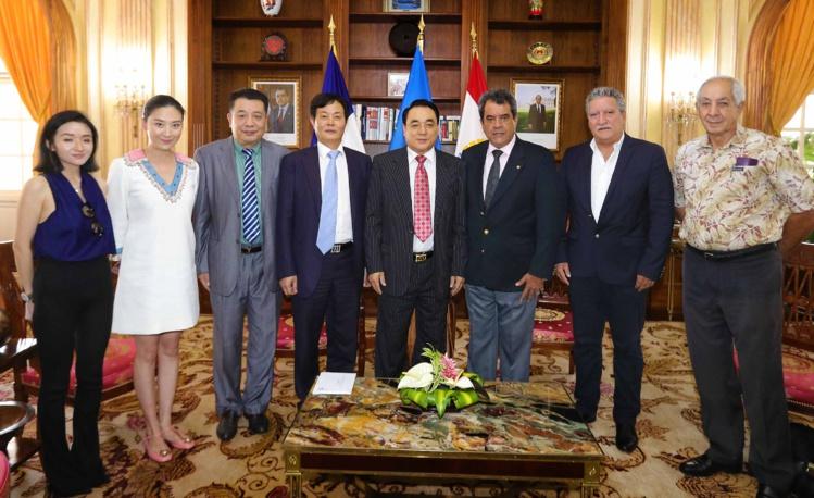 Une délégation de Phoenix TV reçue à la Présidence