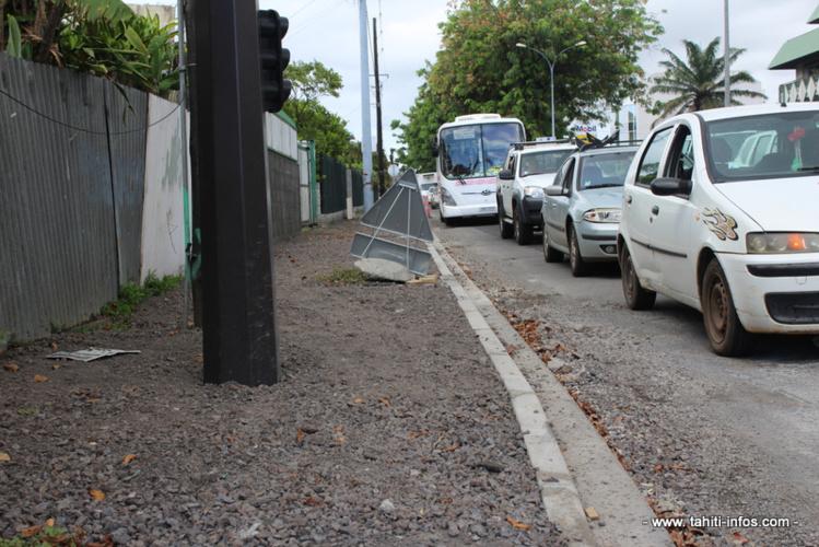 Travaux avenue Prince Hinoi : le ras-le-bol des riverains et des usagers