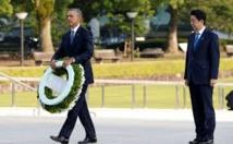 Départ du Premier ministre japonais Abe pour Pearl Harbor