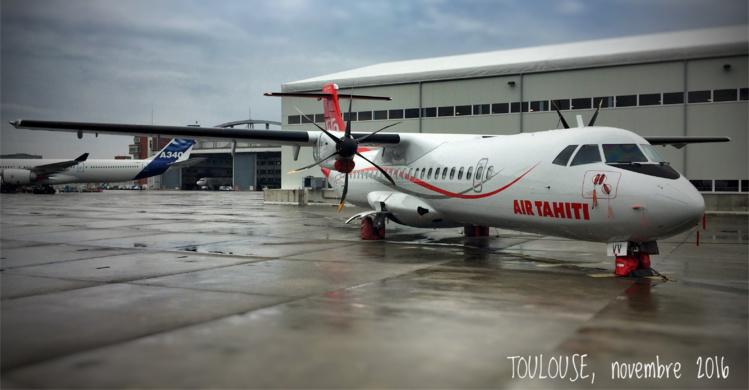 Air Tahiti inaugure un nouvel ATR-72