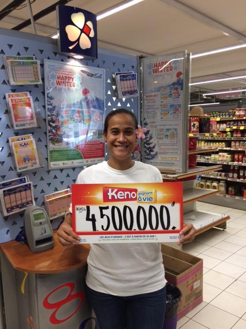 Le billet a été acheté au supermarché Super Manava de Punaauia
