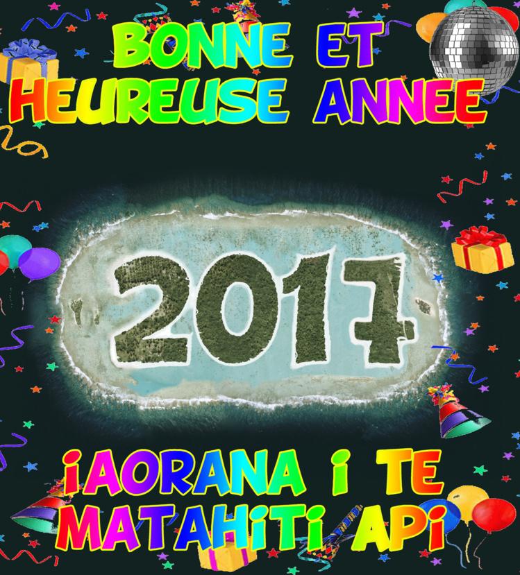""""""" Bonne et heureuse année 2017 """" par Munoz"""