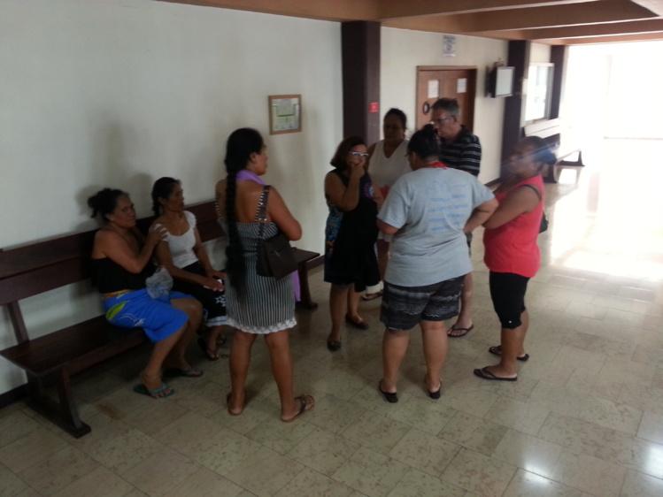 La famille de la petite victime était présente ce lundi sur le banc des parties civiles.