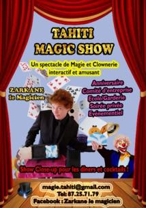Tahiti Magic Show : close-up et grande illusion