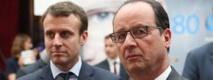 Hollande en hausse, Macron en tête des personnalités (sondage)