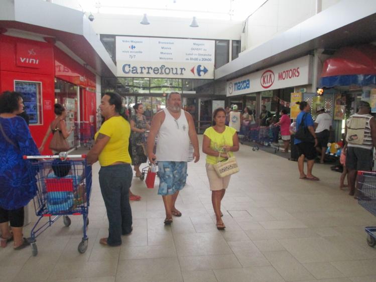 Le Carrefour de Punaauia est rouvert
