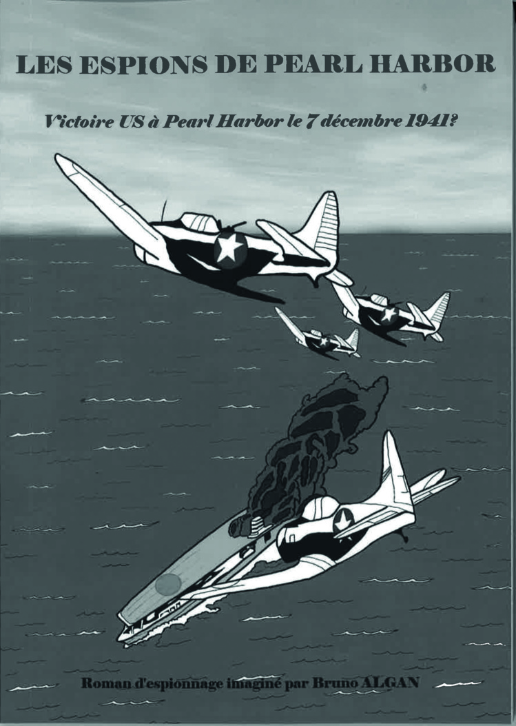 Entre histoire et fiction, ce roman d'espionnage a été édité à compte d'auteur.