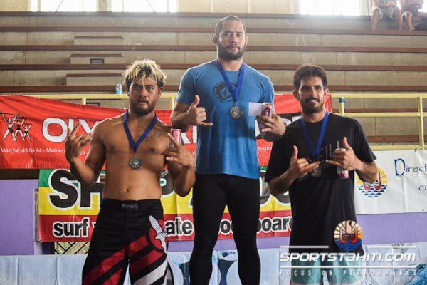 Tamahau a gagné aussi en lutte en décembre