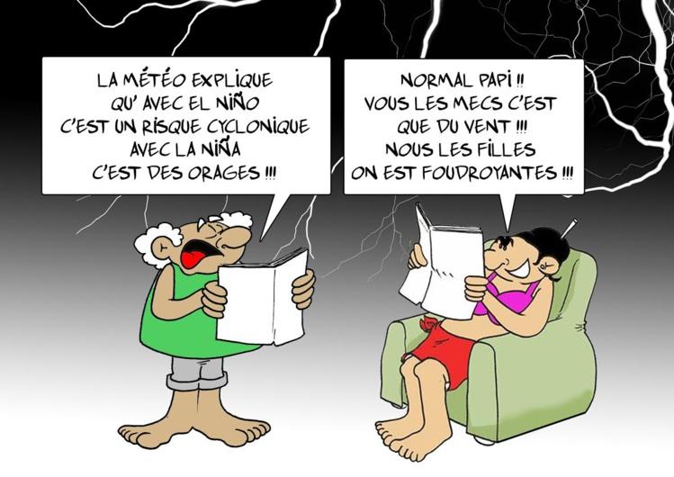 """"""" La météo """" par Munoz"""