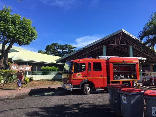 L'école Raitama de Papeete a procédé à son 2ème exercice d'évacuation