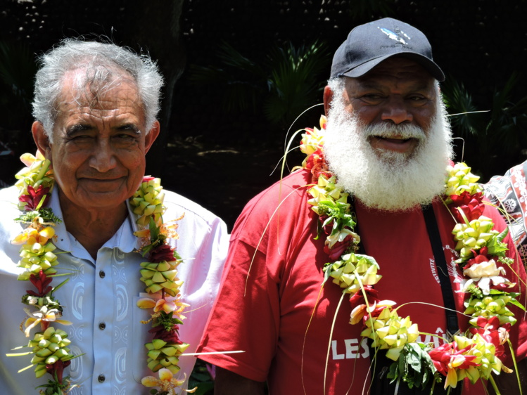 Oscar Temaru a reçu jeudi matin Paul Néaoutyine, président de la Province Nord de la Nouvelle-Calédonie.