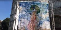 Un tableau de Monet transformé en tricot géant fait le buzz