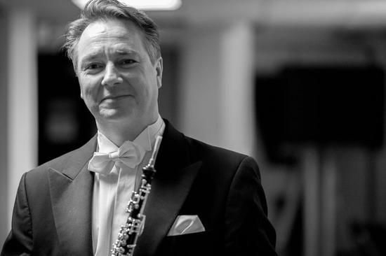 Le hautboïste Jérôme Guichard est actuellement professeur au Conservatoire national supérieur de Lyon.