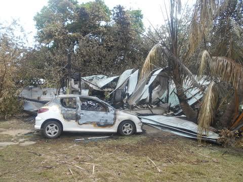 Moorea : un fare incendié et sa propriétaire rouée de coups