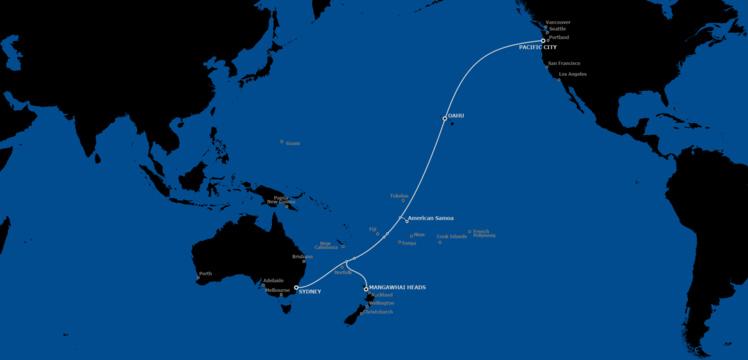 Le projet privé Hawaiki reliera l'Australie/Nouvelle-Zélande aux États-Unis en passant par les Samoa américaines et Hawaii. Un autre projet, public cette fois, devrait relier les Samoa à Tahiti en passant par les Cook, Niue et Tokelau.