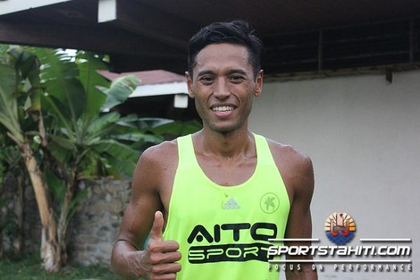 Cédric Wane est le nouveau champion de Polynésie de Cross Country