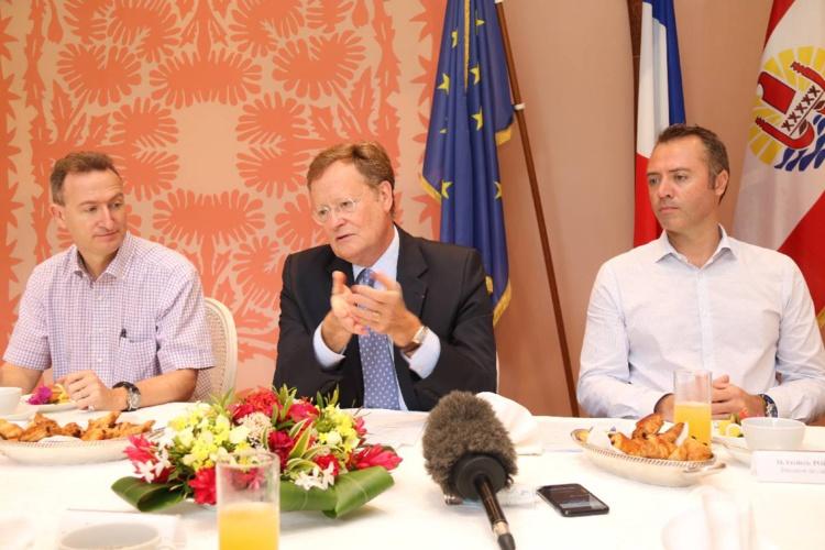 René Bidal fait le point sur les dossiers entre l'Etat et le Pays