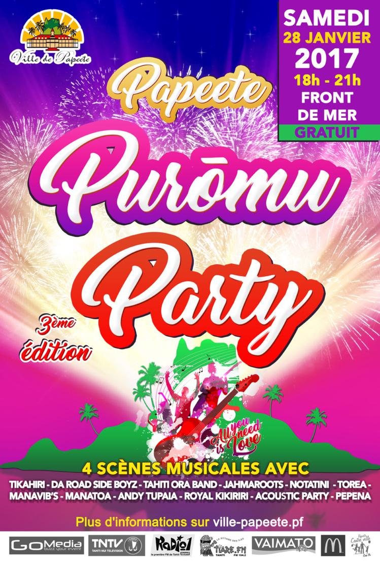 """La 3ème édition de la """"Purōmu Party"""" se fera le 28 janvier"""