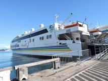 Intempéries : modification des horaires du navire Aremiti 5
