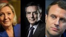 Présidentielle: Le Pen en tête, Fillon recule, Macron progresse (sondage)
